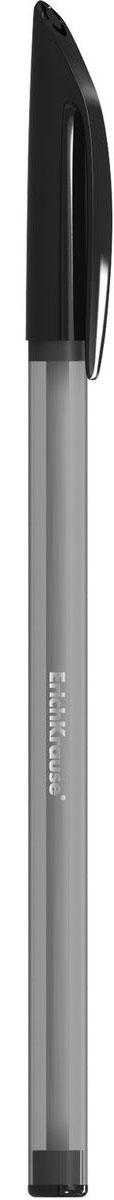 Erich Krause Ручка шариковая R-101 черная 3351233512Шариковая ручка в тонированном пластиковом корпусе. Цвет чернил-черный. Цвет корпуса и вентилируемого колпачка соответствует цвету чернил. Пишущийузел 1. 0 мм. Толщина линии 0. 5 мм. Длина письма 800 м.