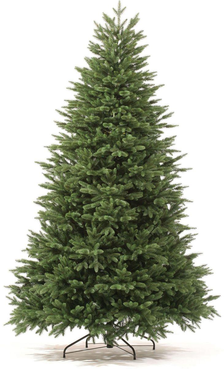 Ель искусственная Царь Елка Оникс, цвет: зеленый, 155 см