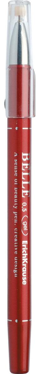 Erich Krause Ручка гелевая Belle красная 1774217742Цвет чернил-красный. Элегантная гелевая ручка станет идеальной спутницей для настоящей Леди. Пишущий узел 0. 5 мм обеспечивает чистое и четкое письмо. Толщина линии 0. 4±0. 02 мм. Сменный стержень. Рекомендуется использовать стержни Erich Krause: арт. 39007, 39008, 39009, 39010.