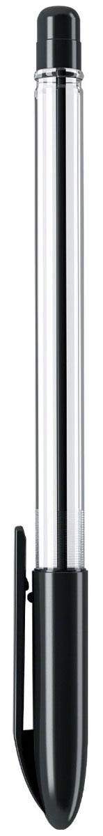 Erich Krause Ручка шариковая Ultra L-20 черная 1387613876Шариковая ручка в прозрачном пластиковом корпусе с рифленой поверхностью передней части корпуса. Цвет чернил-черный. Цвет колпачка соответствует цвету чернил.Пишущий узел 0. 7 мм. Толщина линии 0. 25 мм. Длина письма 1800 м