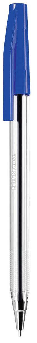 Erich Krause Ручка шариковая Ultra L-10 синяя 1387313873Шариковая ручка в прозрачном корпусе с рифленой поверхностью для пальцев. Цвет колпачка соответствует цвету чернил. Цвет чернил- синий. Пишущий узел 0. 7 мм обеспечивает тонкое и четкое письмо. Толщина линии 0. 25 мм. Длина письма 1800 м. Сменный стержень: арт. 21508, 25540, 25541, 25542.