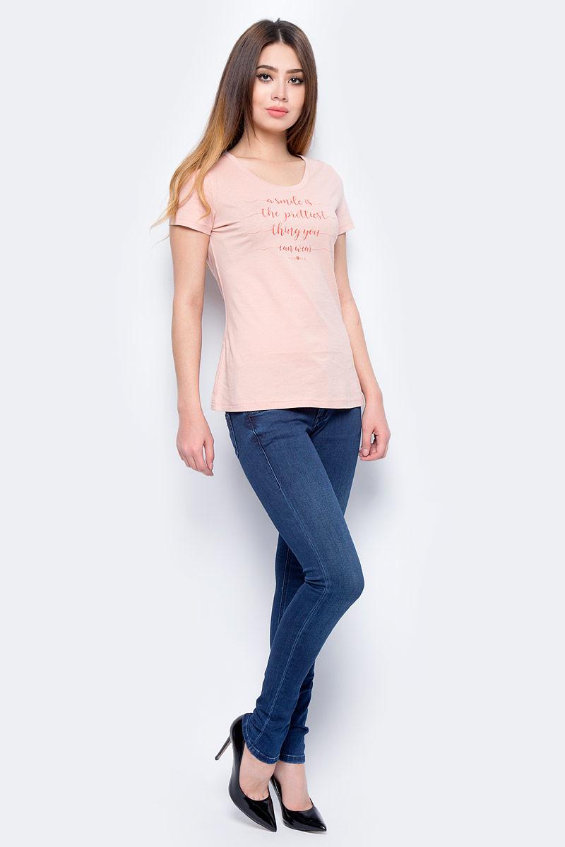 Джинсы женские Mustang Gina Jeggins, цвет: синий. 3598-5781-077_077. Размер 28-32 (44-32)3598-5781-077_077Женские джинсы изготовлены из качественного материала на основе хлопка. Джинсы застегиваются на пуговицу в поясе и ширинку на застежке-молнии, дополнены шлевками для ремня. Спереди модель оформлена двумя втачными карманами, сзади - двумя накладными карманами.