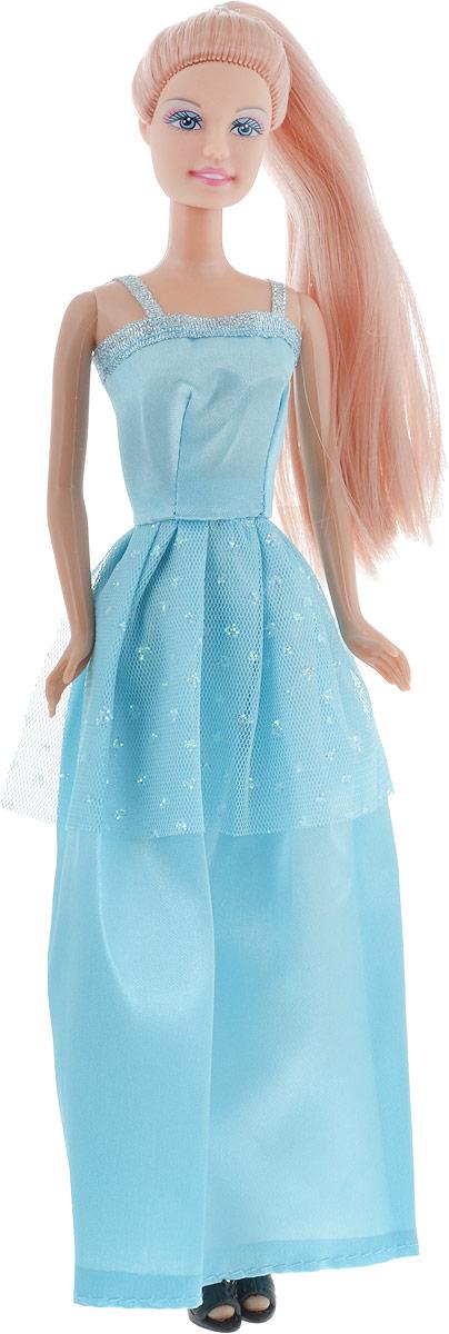 Defa Toys Кукла Lucy цвет платья голубой кукла defa lucy с коляской и собачкой 8205