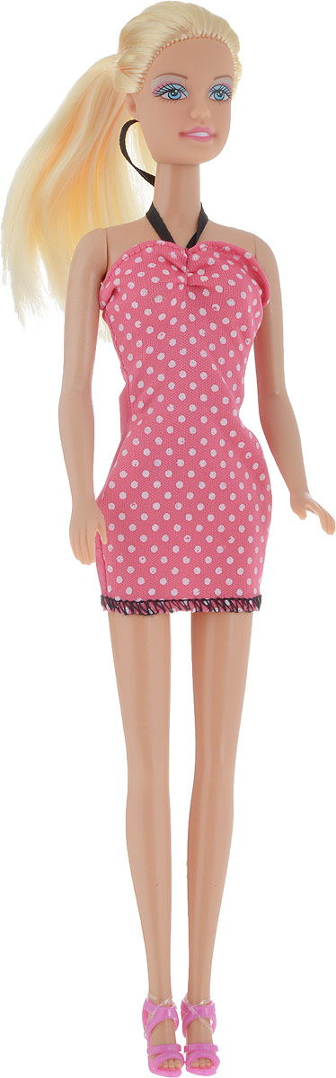 Defa Toys Кукла Lucy цвет платья розовый белый кукла defa lucy 8305a