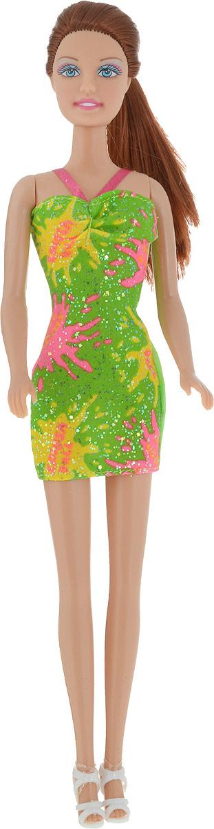 Defa Toys Кукла Lucy цвет платья зеленый кукла defa lucy 270 228984