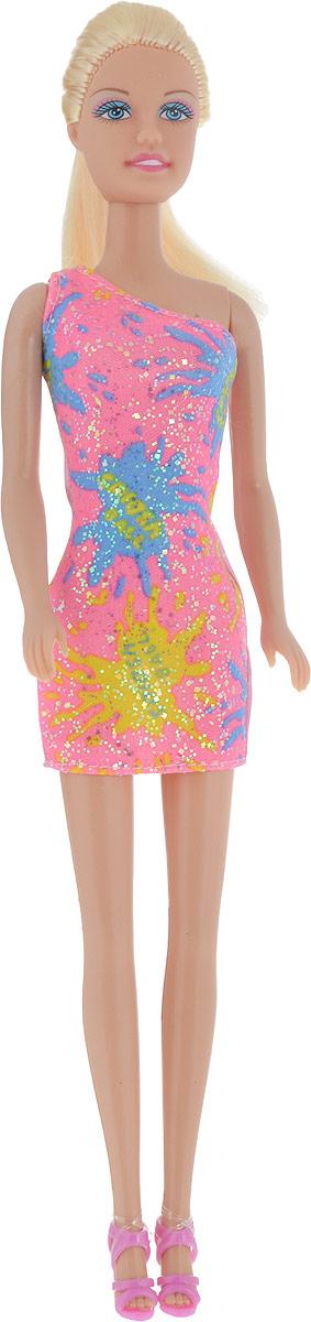 Defa Toys Кукла Lucy цвет платья розовый желтый голубой defa toys кукла lucy happy wedding цвет платья розовый