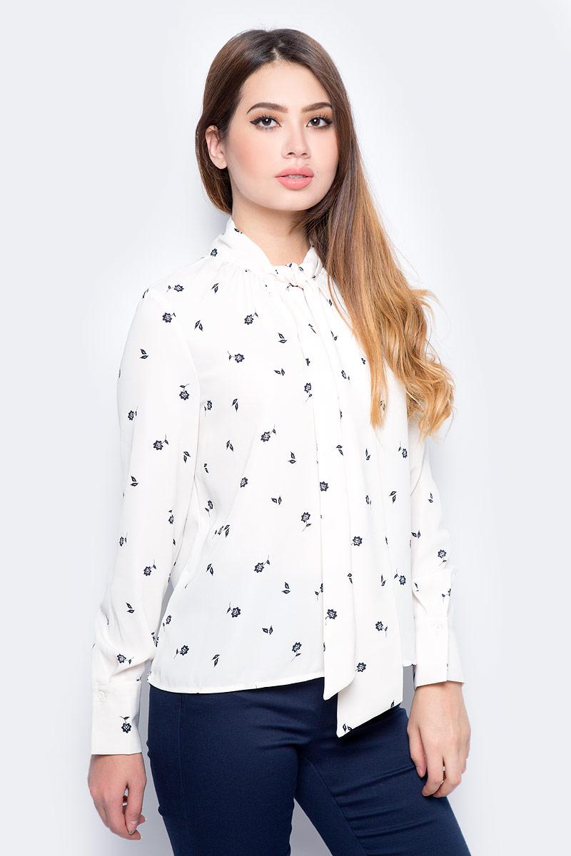 Блузка женская Vero Moda, цвет: бежевый. 10186375_Eggnog. Размер XS (40/42) блузка женская vero moda цвет темно синий 10185884 navy blazer размер xs 40 42