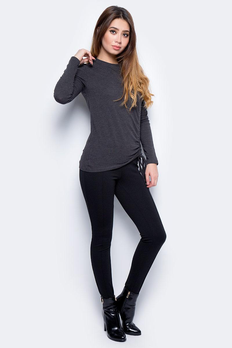 Леггинсы женские Vero Moda, цвет: черный. 10185227_Black. Размер XS (40/42)10185227_BlackСтильные леггинсы, выполненные из комбинированного материала, идеально сочетают в себе стиль и комфорт. Модель с широкой резинкой на поясе.