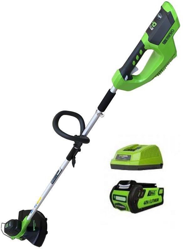Триммер аккумуляторный Greenworks 2101507UA 40V 2101507UA