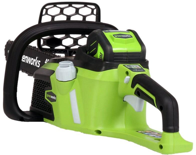 Цепная пила аккумуляторная Greenworks 40V 20077 -  Садовая техника