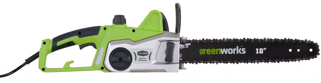 Цепная пила электрическая Greenworks 2000W, 45 см -  Садовая техника
