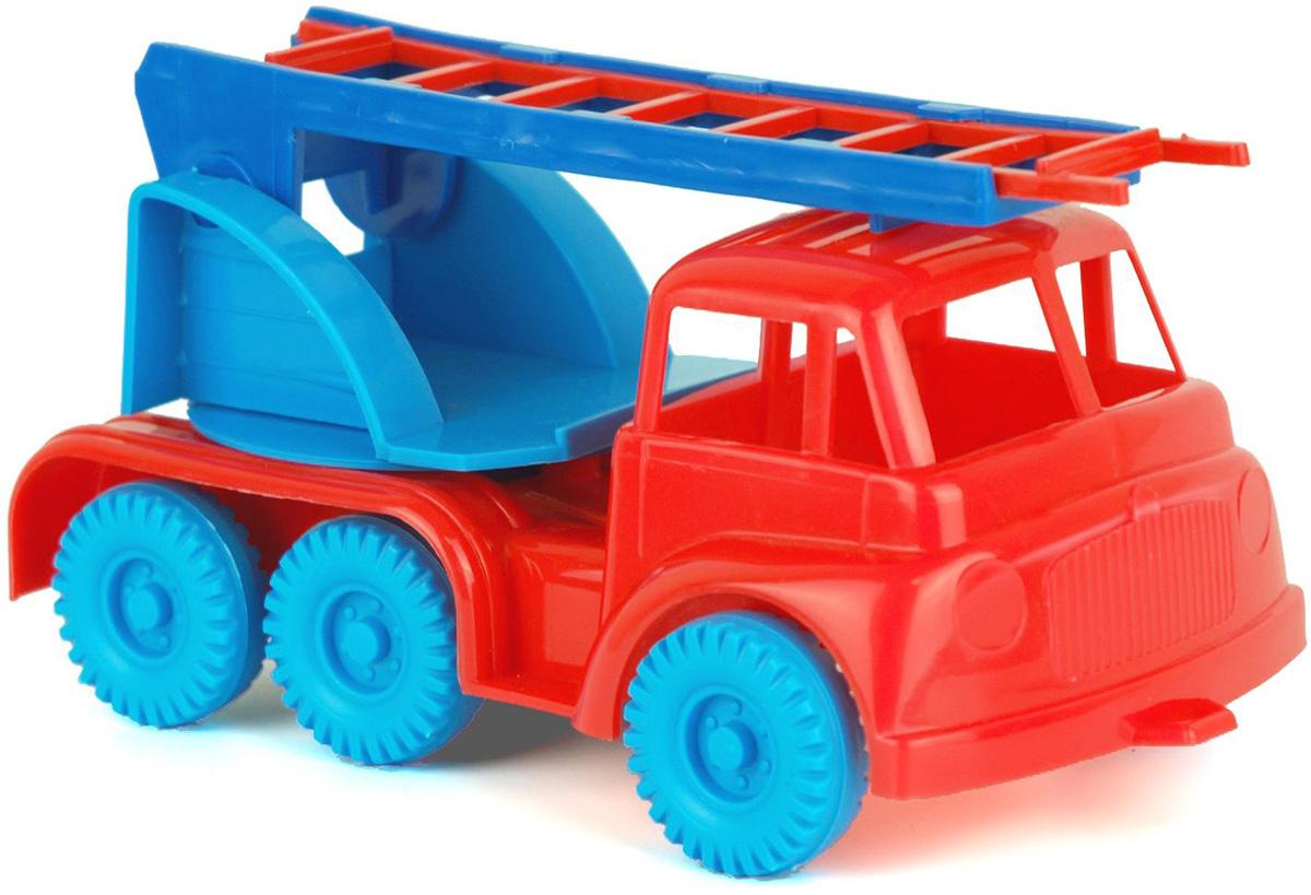 Zebratoys Пожарная машинка Тоша пламенный мотор машинка инерционная volvo пожарная охрана