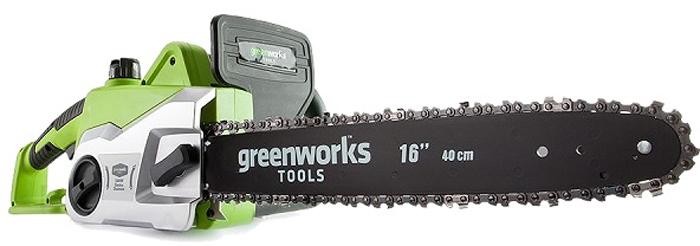 Цепная пила электрическая Greenworks 1800W, 40 см 20027 -  Садовая техника
