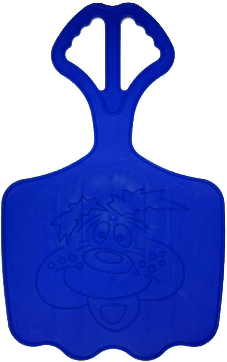 Zebratoys Ледянка большая цвет синий16-10120_синийДетская ледянка имеет большой размер и оснащена удобной ручкой, за которую ребенок сможет держаться во время движения. Ледянка, рассчитанная на одного или несколько пассажиров, украшена контурным изображением. Детворе будет весело проводить время на улице, скатываясь с горок со скоростью. Ледянка выполнена из морозостойкого пластика и в ярких красивых цветах.