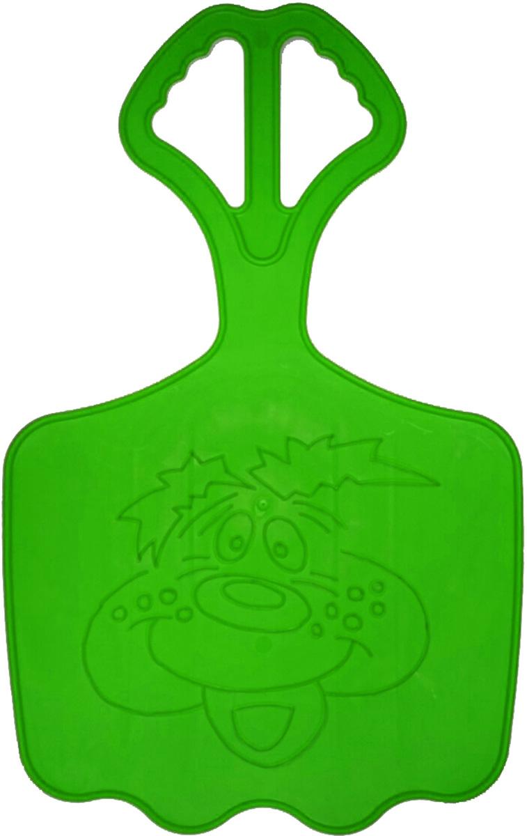 Zebratoys Ледянка большая цвет зеленый16-10120_зеленыйДетская ледянка имеет большой размер и оснащена удобной ручкой, за которую ребенок сможет держаться во время движения. Ледянка, рассчитанная на одного или несколько пассажиров, украшена контурным изображением. Детворе будет весело проводить время на улице, скатываясь с горок со скоростью. Ледянка выполнена из морозостойкого пластика и в ярких красивых цветах.