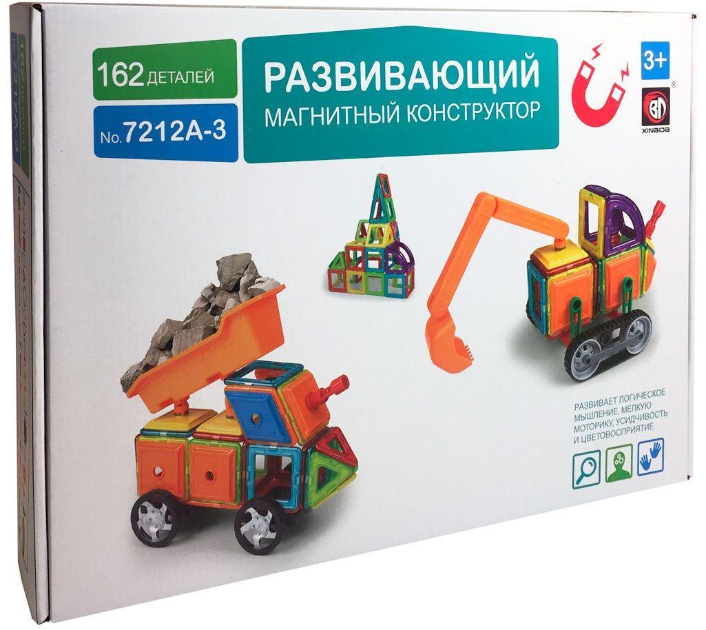 Умный Шмель Магнитный конструктор Грузовик и Экскаватор умный сад в подробностях