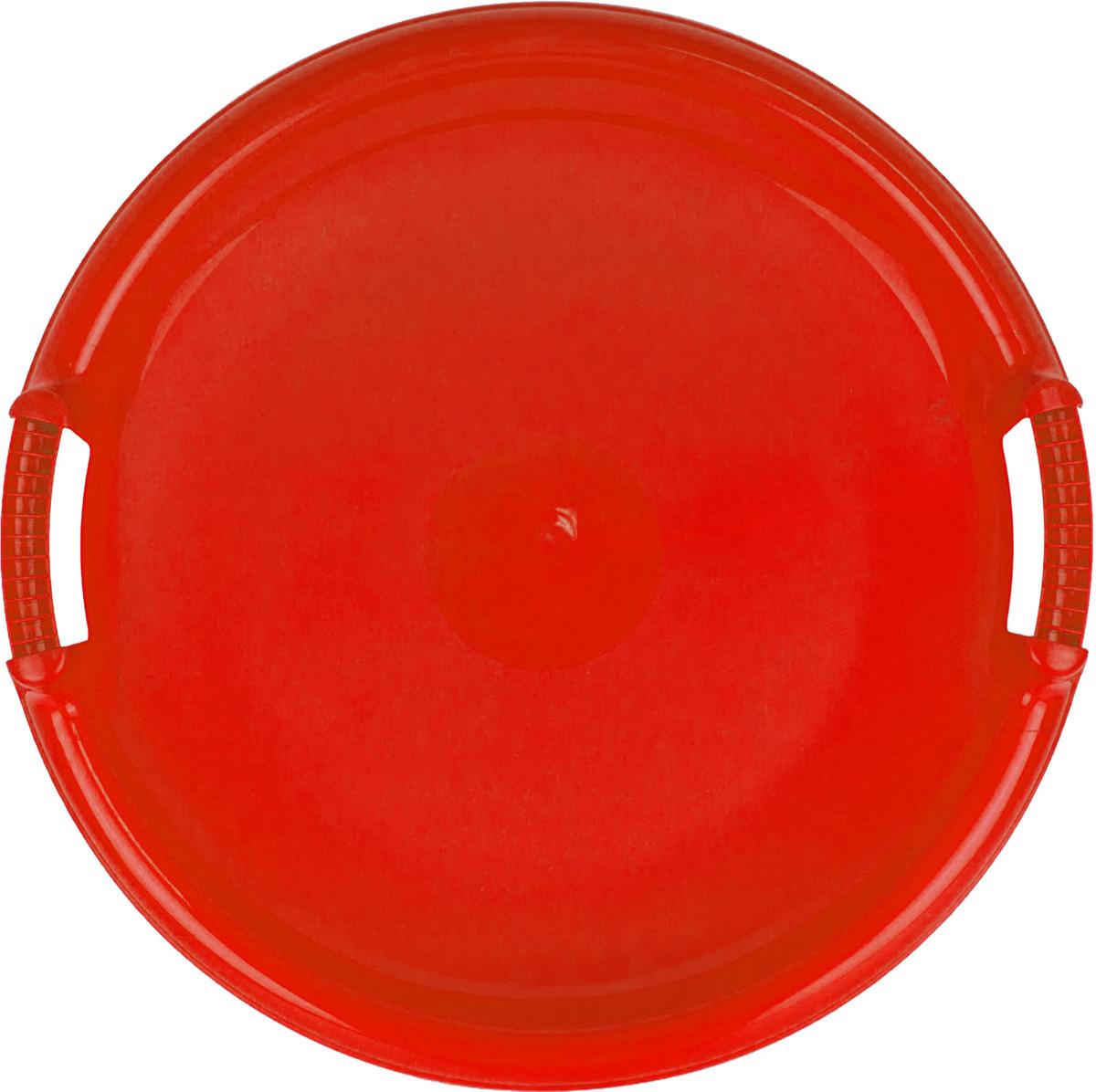 Zebratoys Ледянка большая круглая цвет красный15-987_красныйЛедянка большая круглая имеет удобный большой размер, который позволяет прокатиться по снежному склону не только детям, но и взрослым. Диаметр круга: 53 см. Ледянка обладает удобными крепкими ручками с двух сторон. Крепкий пластик обеспечит ровное быстрое скольжение и убережет от возможных травм. Выполнена из морозостойкого пластика в ярких цветах, которые отлично будут смотреться на снежных склонах.