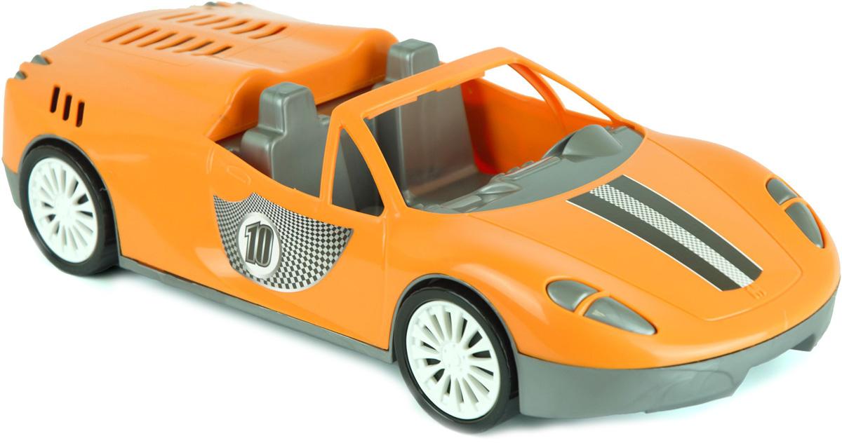 Zebratoys Спортивный Кабриолет цвет оранжевый фурла купить копию