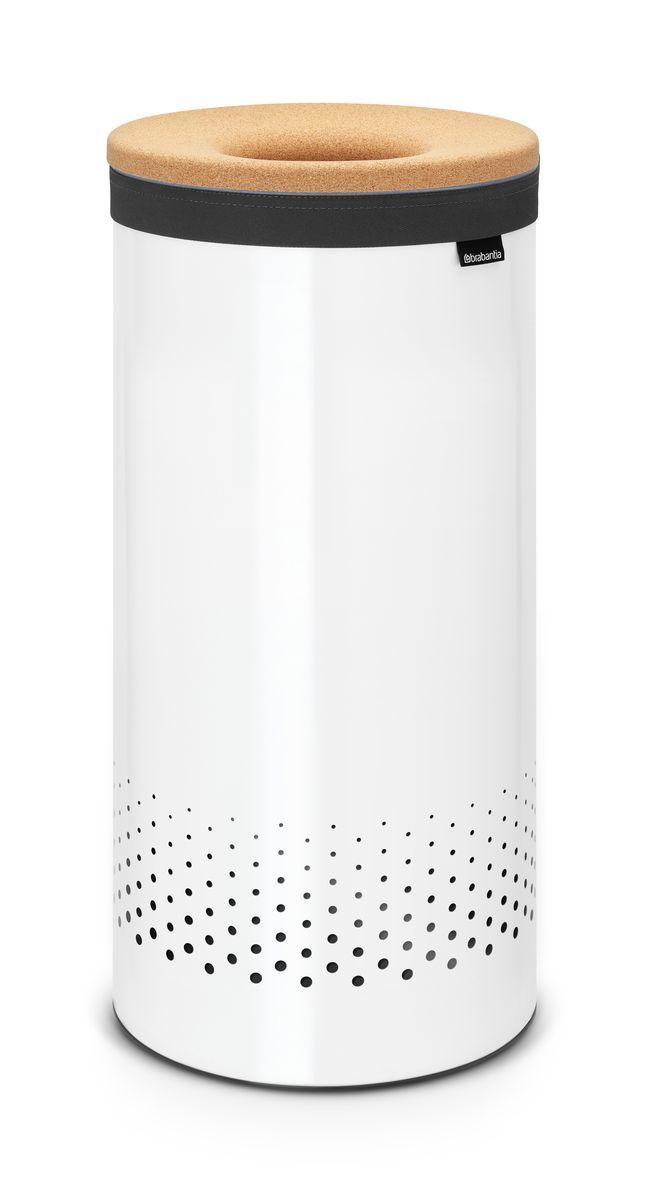 Бак для белья Brabantia, цвет: белый, 35 л. 104367104367Стильный дизайн и аккуратное хранение – через крышку не видно содержимое.Удобно закладывать и доставать белье – крышка крепится на верхний ободбака. Небольшие вещи можно закладывать, не открывая крышку – загрузочноеотверстие Quick-Drop. Удобная переноска белья – съемный легко стираемый хлопковый мешок длябелья.Мешок для белья удобно крепится на липучке, вкладывается и достается избака. Вентиляционные отверстия позволяют белью «дышать». Нижний пластиковый защитный обод предохраняет пол от повреждений. Бак изготовлен из коррозионностойких материалов и идеально подходитдля использования в ванной комнате.