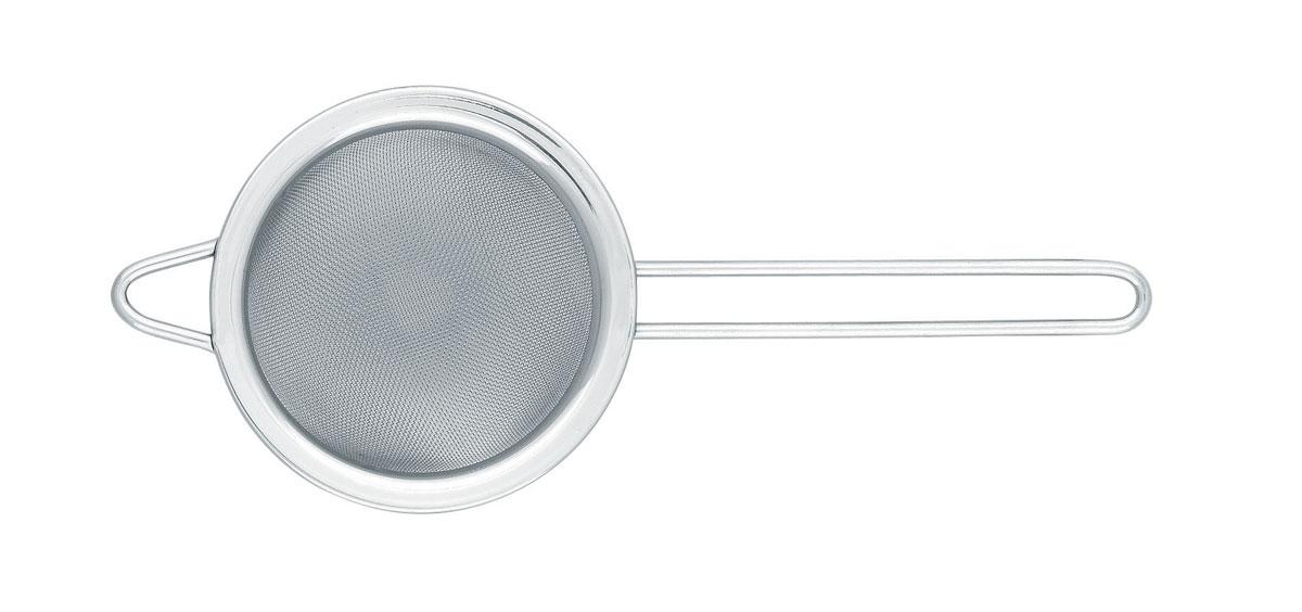 Сито Brabantia Profile, цвет: стальной матовый, диаметр 7,5 см. 166969166969Подходит для использования с любыми стандартными чашками и стаканами. Легко моется в посудомоечной машине. Имеется петелька для подвешивания и удобная длинная ручка.