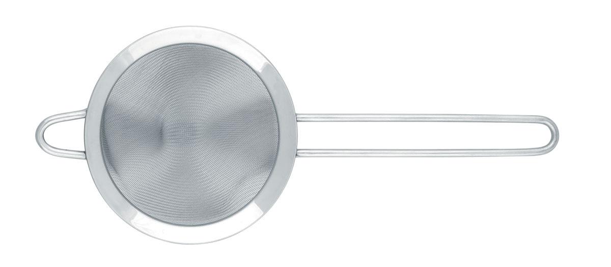 Сито Brabantia Profile, коническое, цвет: стальной матовый, диаметр 12,5 см. 182624182624Удобно для процеживания горячих соусов и т.п.; жидкость охлаждается не так быстро.Легко моется в посудомоечной машине.100% нержавеющая сталь.Имеется петелька для подвешивания и удобная длинная ручка.