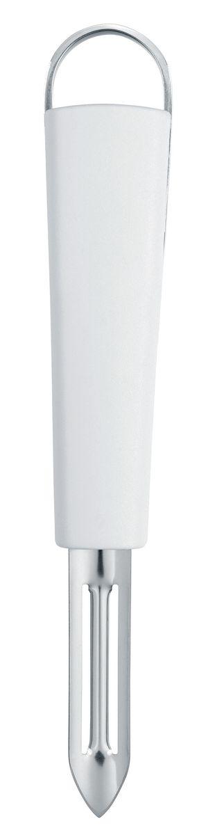 Нож для чистки Brabantia Essential, цвет: белый. 400308 винтовой нож для картофеля