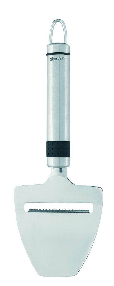 Этот универсальный нож можно использовать для нарезки ломтиками сыра, огурцов, моркови и т.п. Ручка из прочного пластика с петелькой для подвешивания из нержавеющей стали. Подходит для мытья в посудомоечной машине. Имеется сочетающийся по стилю настенный держатель (рейлинг). В комплект не входит.