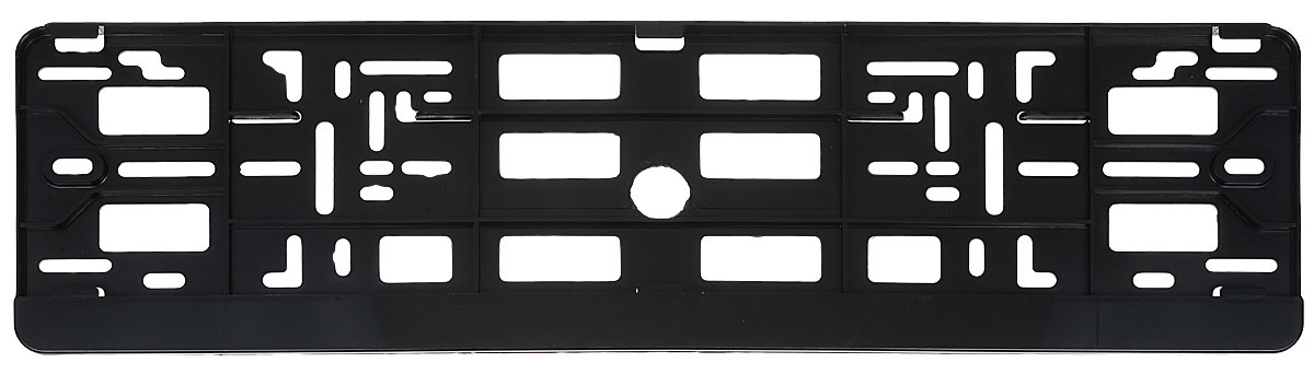 Рамка под номерной знак Phantom, универсальная, цвет: черныйРН5370Рамка под номер Phantom, изготовленная из прочного эластичного пластика, предназначена для удобной установки номерных знаков на автомобиль. Конструкция открытия рамки - книжка. Данная конструкция обладает надежным креплением номерного знака по всему контуру. Благодаря гибкому и прочному материалу рамка способна принимать форму монтажной поверхности. Рамка сохраняет свои свойства при температуре от -30°C до +30°C. Подходит к любым автомобилям.