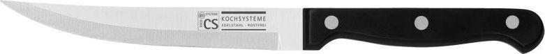 Нож универсальный Cs-Kochsysteme Star, длина лезвия 13 см000226Универсальный нож Cs-Kochsysteme Star изготовлен из нержавеющей стали. Ручка эргономичной формы очень хорошо лежит в руке. Нож легко режет любые виды продуктов. Легко моется.