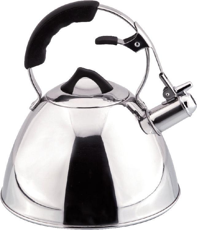 Чайник Carl Schmidt Sohn Aquatic, со свистком, цвет: серый металлик, 3 л058500Чайник AQUATIC 3 л со свистком изготовлен из высококачественной нержавеющей стали. Классическое покрытие подходит для большинства кухонь и Вы сможете использовать чайник на всех типах варочных поверхностей (в том числе индукционных). В подарочной коробке