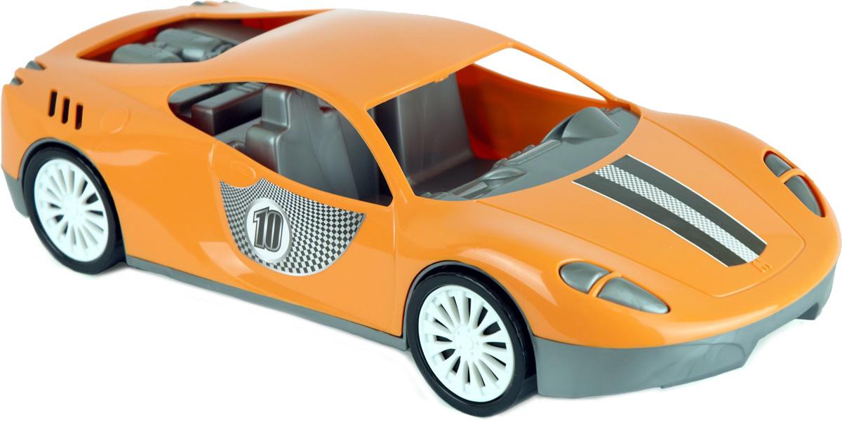 Zebratoys Спортивный автомобиль цвет оранжевый салон в москве мерседесс как автомобиль