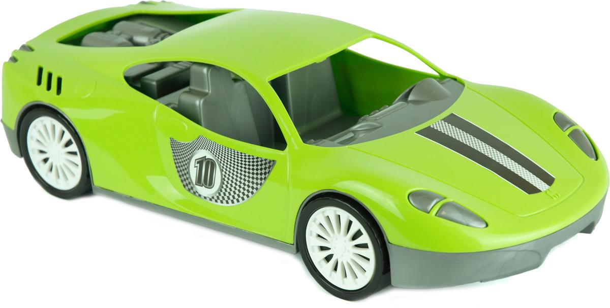 Zebratoys Спортивный автомобиль цвет зеленый салон в москве мерседесс как автомобиль
