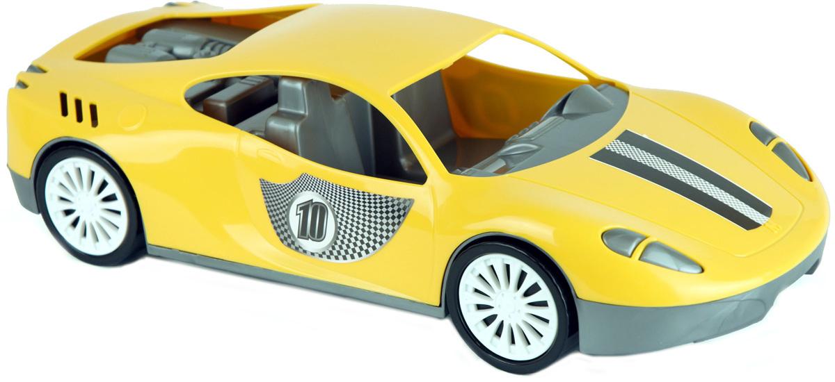 Zebratoys Спортивный автомобиль цвет желтый салон в москве мерседесс как автомобиль