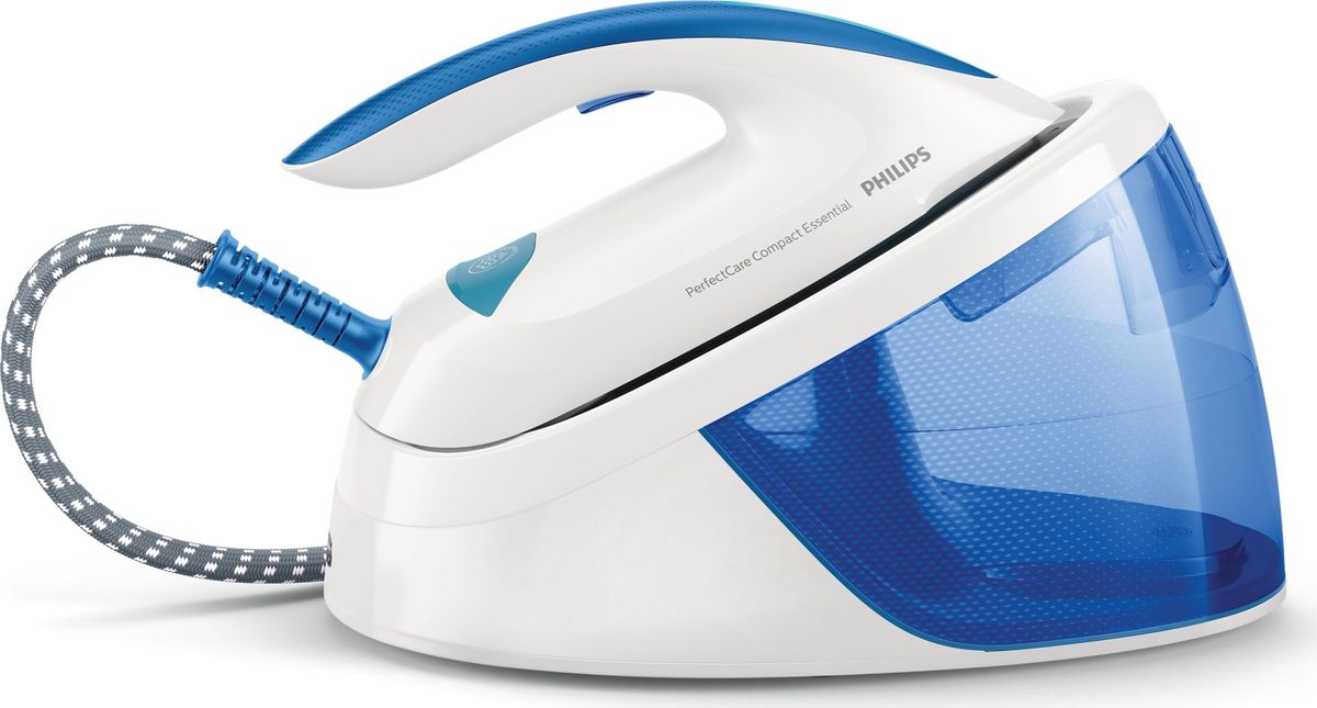 Philips GC6804/20 PerfectCare Compact Essential, White Blue парогенератор