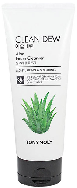 TonyMoly Пенка для умывания с экстрактом алоэ Clean Dew Aloe Foam Cleanser, 180мл 2pcs knowles balance armature gk 31732 driver receiver speaker in ear monitor earphone parts diy iem iron unit