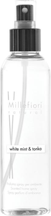 "Ароматизатор Millefiori Milano ""Natural"", белая мята и тонка, 150 мл"