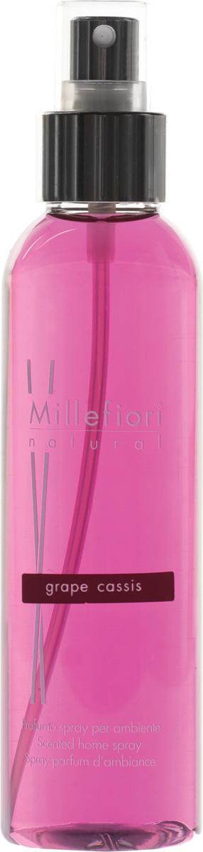 Ароматизатор Millefiori Milano Natural, виноградная гроздь, 150 мл ароматизатор millefiori milano natural яблоко и корица сменный блок 250 мл