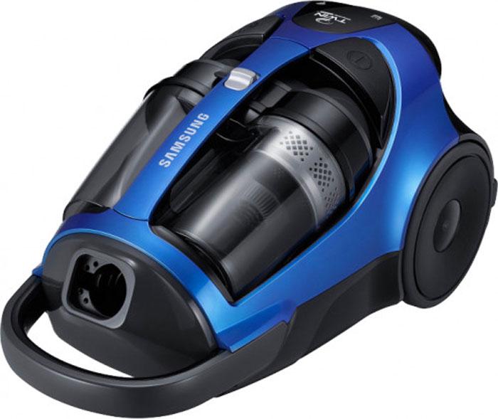 Samsung SC-8836V36 пылесос900000019692200/430 Вт, Синий , 2 л, На корпусе, HEPA 13, турбо щётка