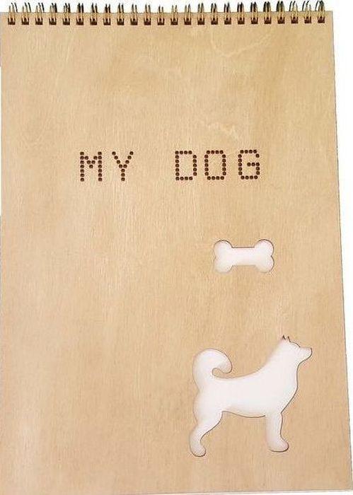 Decoriton Скетчбук My Dog А4 40 листов9596016Скетчбук My Dog, бумага для графики, цвет Слоновая кость, произведена в Европе, размер листа А4, 100гр/м2, 40л., деревянная обложка 3мм, цвет дуб, серебряная спираль по короткой стороне. Рисовальная бумага для набросков и скетчей. Идеально подходит в работе с линерами и карандашами, а так же неспиртовыми маркерами. Деревянная обложка цвета дуб придает альбому прочность, защищает Ваши творения от механического воздействия и позволяет использовать блокнот как планшет.