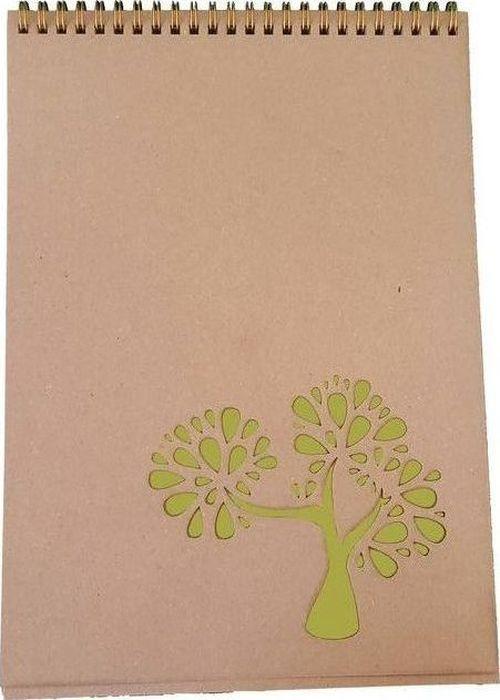 Decoriton Скетчбук Nature А4 50 листов9596037Скетчбук Nature на спирали с натуральной крафт-бумагой коричневого цвета произведен в Европе. Рисовальная бумага для набросков и скетчей. Подходит для работы пастелью, углем, линерами и карандашами, а также не спиртовыми маркерами. Плотная обложка из крафт-картона придает природной натуральности блокноту и позволит использовать его как планшет.