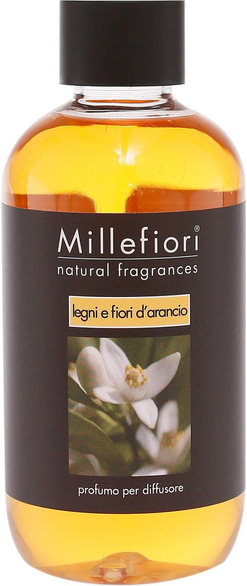 Ароматизатор Millefiori Milano Natural, лес и полевые цветы, сменный блок, 250 мл ароматизатор millefiori milano via brera бергамот сменный блок 250 мл