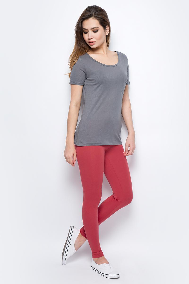 Брюки жен United Colors of Benetton, цвет: красный. 3P4ZP0248_30A. Размер XS (40/42)3P4ZP0248_30A