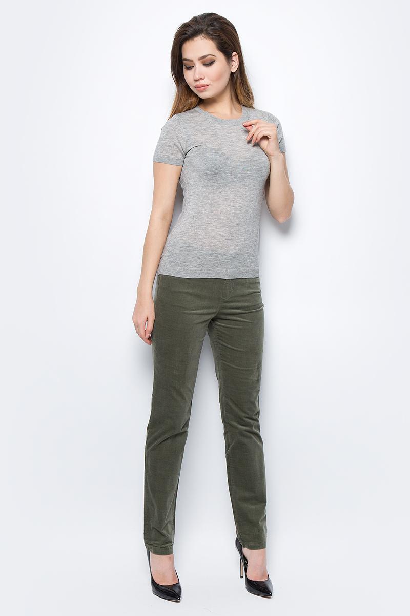 Свитер жен United Colors of Benetton, цвет: серый. 16PDD1D82_501. Размер L (46/48)16PDD1D82_501