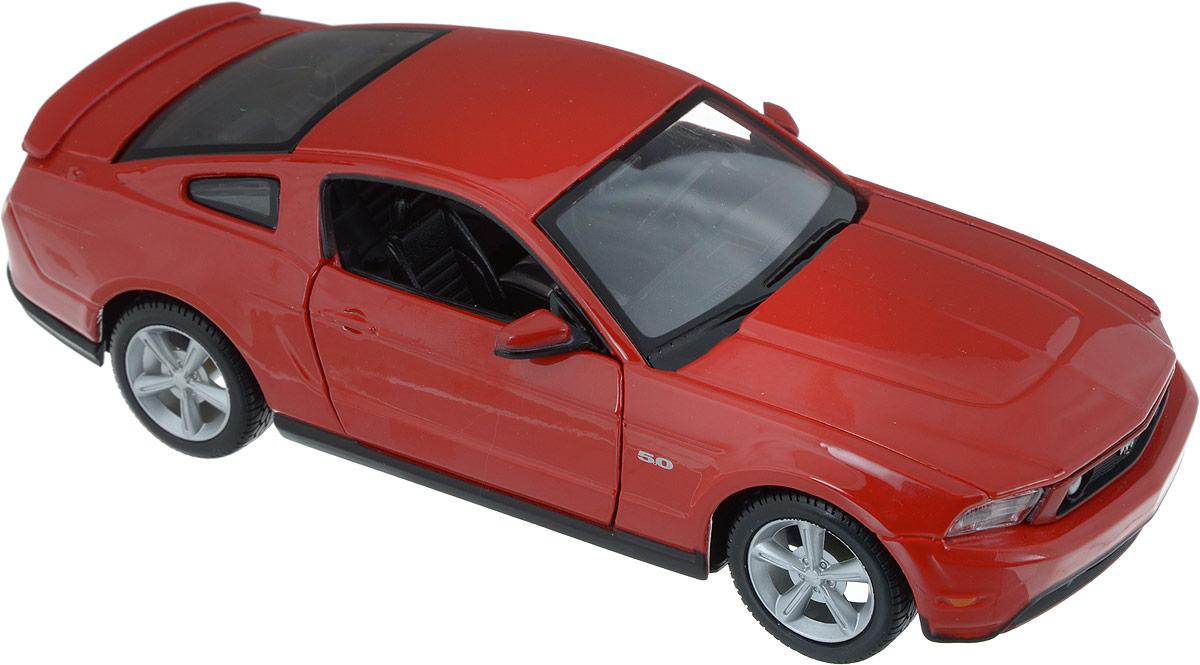 Maisto Модель автомобиля 2011 Ford Mustang GT цвет красный игрушка maisto трансформирующаяся машина menace hauler scout x3 81120