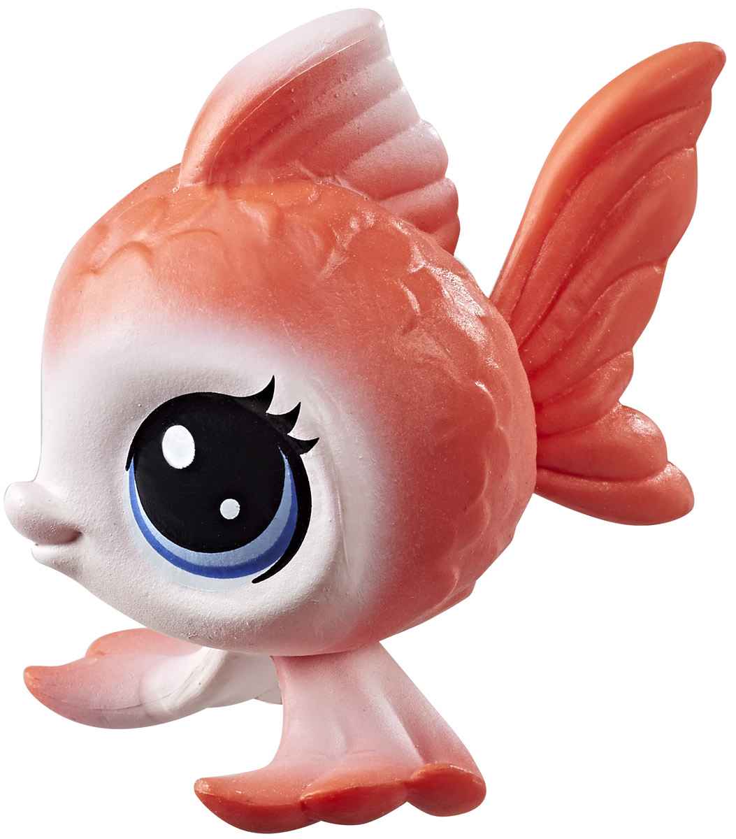 Littlest Pet Shop Фигурка Rei Angelfisher littlest pet shop фигурка bongo brill
