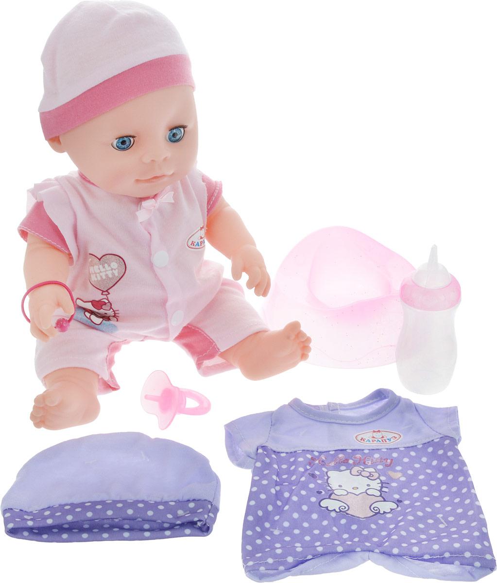 Карапуз Пупс Hello Kitty цвет светло-розовый розовый - Куклы и аксессуары
