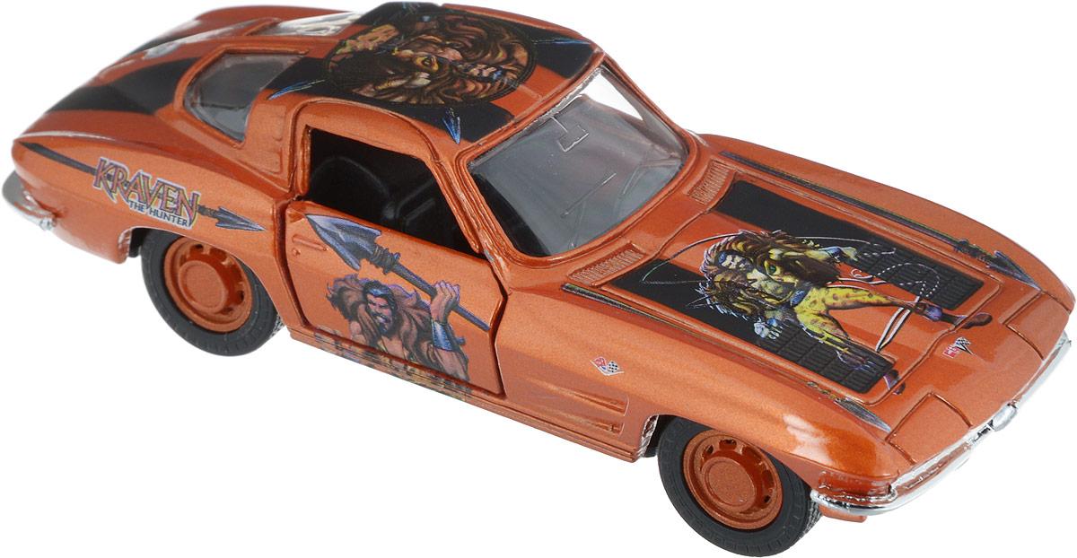 Maisto Машинка инерционная Kraven (1963 Chevrolet Corvette) игрушка maisto 1957 chevrolet bel air 81302