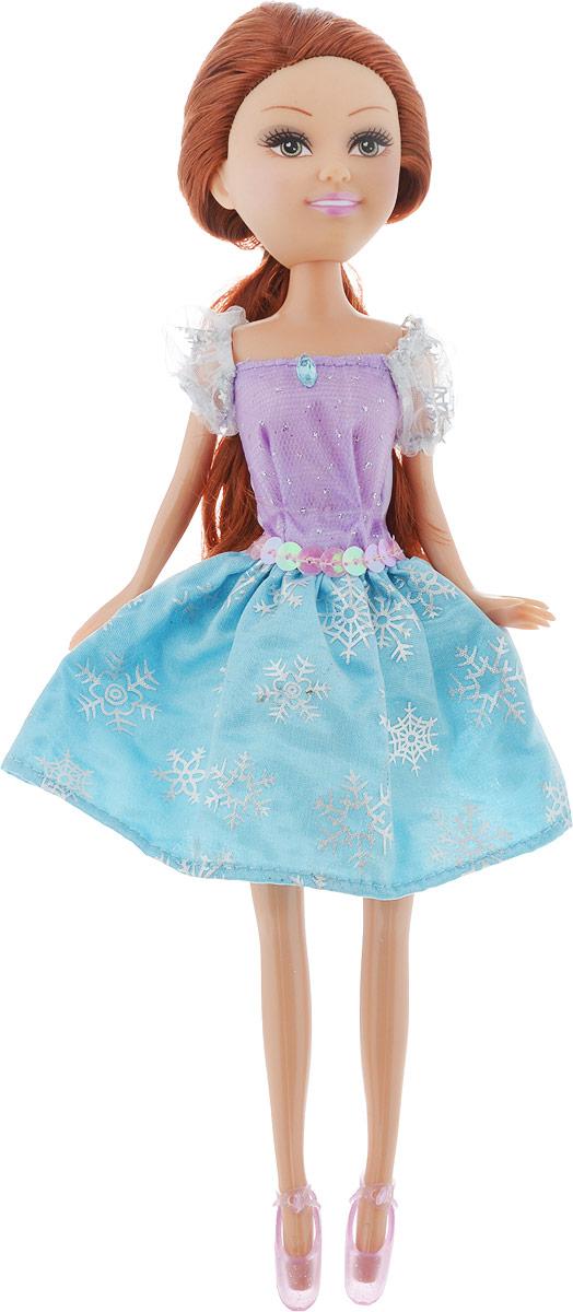 Funville Кукла Sparkle Girlz Зимняя Принцесса цвет платья голубой сиреневый