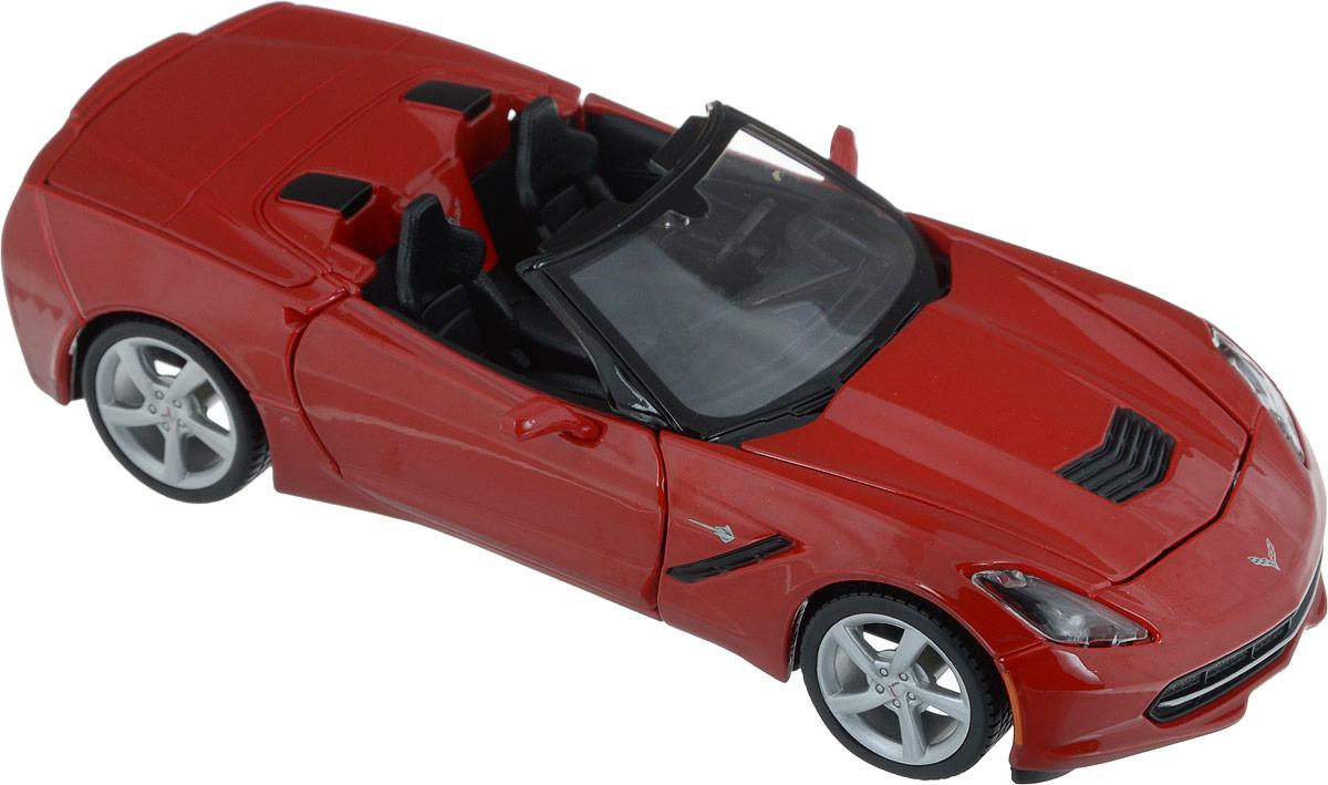 Maisto Модель автомобиля 2014 Corvette Stingray цвет красный motormax модель автомобиля corvette 1967 цвет черный