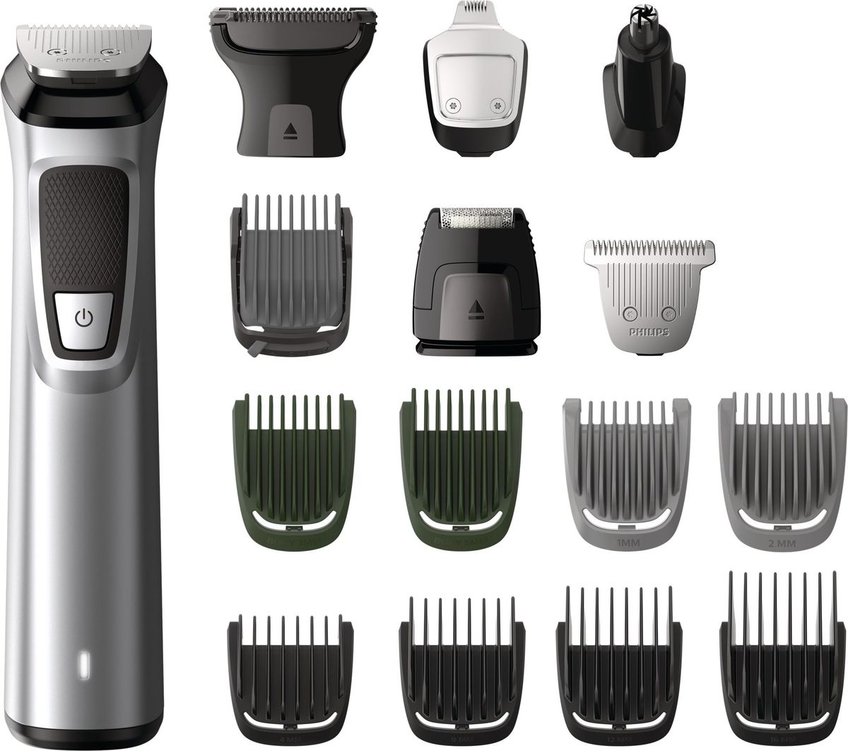 Philips MG7730/15 триммер 16 в 1 для волос на голове, лице и теле